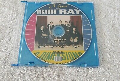 A Gozar With Ricardo Ray - 3 Dimensions  - Cd-R