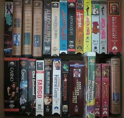 Large lot of assorted VHS movies/tv shows (Local Edmonton pickup only)