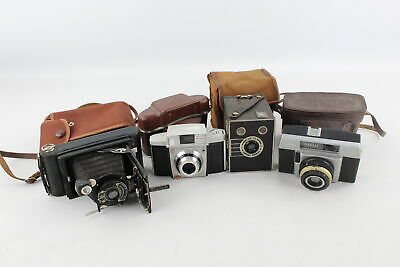 4 x VINTAGE CAMERAS Inc. 3 x Kodak & Ilford WORKING