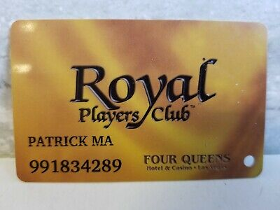 Four Queens Royal Casino Hotel Players Card Slot NV Las Vegas Downtown