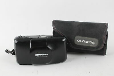 Olympus Mju Zoom COMPACT FILM CAMERA All Weather w/ Original Case WORKING