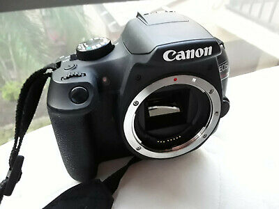 Canon EOS Rebel T6 18MP Digital Camera - BODY ONLY + battery & manual