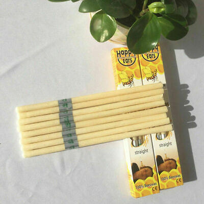 2Pcs Hopi Ear Candling Candel Natural Beeswax Excellent Quality Wax CandlesQV