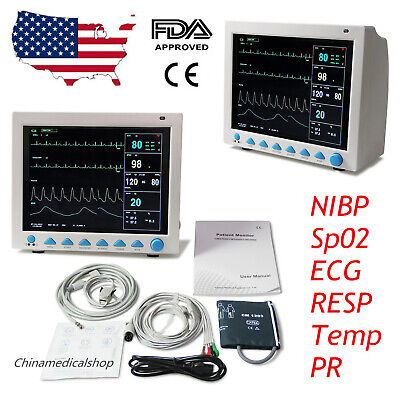 "CMS8000 Patient Monitor,12.1""  Vital Sign Multi-parameter ICU/CCU CE&FDA CONTEC"