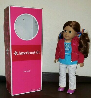 2013 American Girl Doll of the Year Retired Saige Parade Saddle Set Scarf ONLY