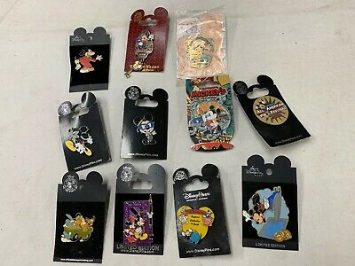 Disney Pin Trading Pins lot of 11 Mickey Mouse pins (A) LQQK