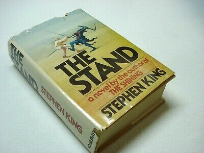 "1978 Doubleday Stephen King ""The Stand"" Hardcover Book Club Edition Book With Dj"