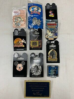 Disney Pin Trading Pins lot of 11 Mickey Mouse and Walt Disney pins (E) LQQK