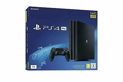 Sony PlayStation 4 Pro 1 To Console - Noire