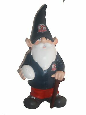 Sydney Roosters NRL Trackie Wearing Garden Gnome With Walking Cane