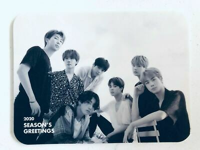 K-POP BTS 2020 Season's Greetings Official Limited BTS Photo Mouse Pad