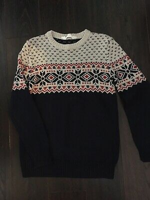 Boys H&M Knit Jumper Age 9-10 Excellent Condition Worn Once
