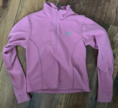 THE NORTH FACE Girls Fleece Size Small PINK | Warm Winter See Description