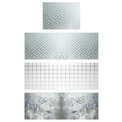 UK Privacy Frosted Window Door Film Shading Sunscreen Glass Sticker Home Decor