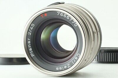 【N Mint】 Contax Carl Zeiss Planar T* 45mm f/2 G Lens for G1 G2 From Japan 20401