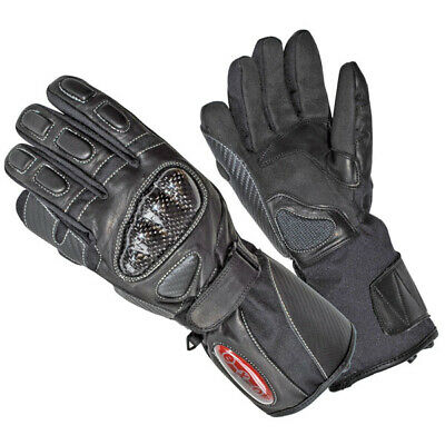 Exo2 StormShield Mens Heated Motorcycle Gloves Size Small