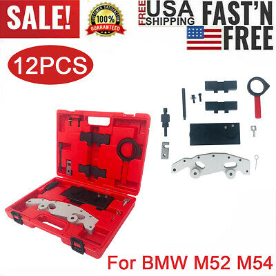 Portable Camshaft Engine Alignment Timing Locking Tool Kit Set for M52 M54 US