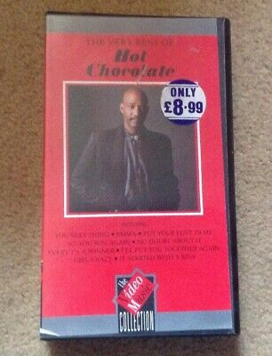 Hot Chocolate -- The Very Best of--- VHS VIDEO CASSETTE (1989)