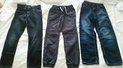 BOYS JEANS TROUSERS (age 10-11 years) clothing bundle 2x Next VGC
