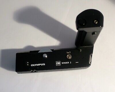 Olympus OM Winder 2. Used, good condition and probably rarely if ever used.