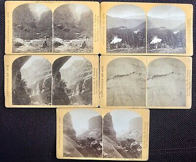 Stereoview Set Stereo Photo Wheeler Expedition War Department 1872-74