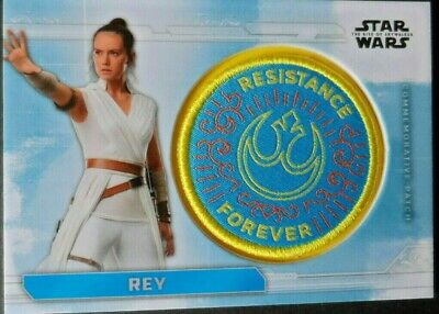 Rey    Pc-Rf    Topps Star Wars The Rise Of Skywalker Patch Cards