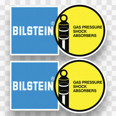 2X BILSTEIN SHOCKS ABSORBERS sticker vinyl decal