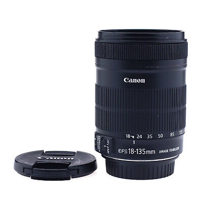 Canon EF-S 18-135mm f/3.5-5.6 IS Lens (Used #210626)
