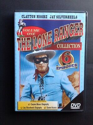The Lone Ranger Collection Volume One - Clayton Moore & Jay Silverheels (DVD)