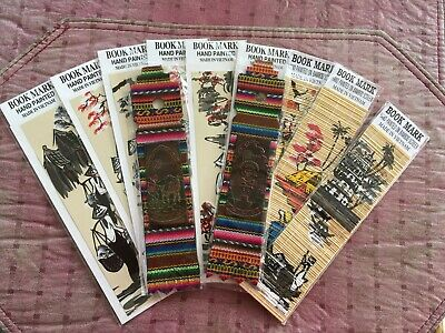 Lot of 11 Souvenir Bookmarks -- Vietnam and Peru -- New in packaging