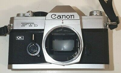 Canon FTb QL 35mm camera