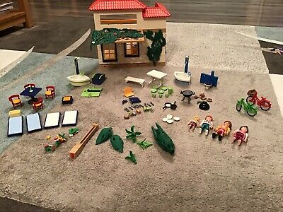 Playmobil Summer House 4857 Used