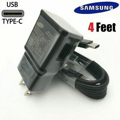 Original Samsung Galaxy S8 S9 S10+ Note 8 OEM Fast Adaptive Charger Type-C Cable