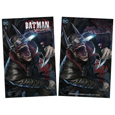 Batman Who Laughs #3 (Skan Variant Set) Limited Edition Only 600 produced