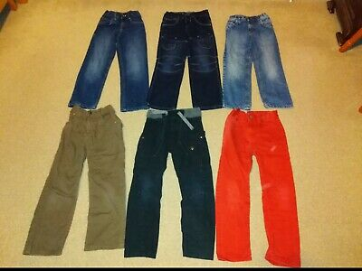Bundle 6 pairs trousers jeans age 7 Next Tu Matalan