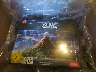 Link's Awakening The Legend of Zelda Collector - NEUF - nintendo switch