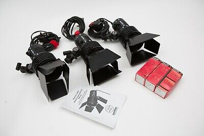 Sachtler Reporter 300H 3 light studio lighting kit 300W / 220V - Good condition
