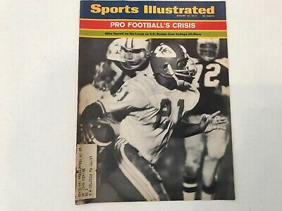 Sports Illustrated KANSAS CITY CHIEFS COVER  MIKE GARRETT AUG 10 1970
