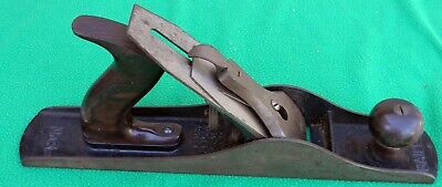 Vintage Stanley Bailey No.5 Woodworking Plane Corrugated Bottom