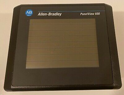 Allen Bradley 2711-T6C16L1 /B PanelView 600 Color Touch RS-232. Fast Shipping.