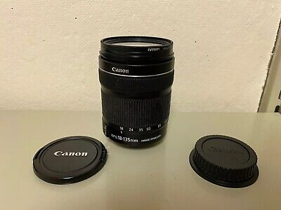 Canon EF-S 18-135mm f/3.5-5.6 IS Standard Zoom Lens #3 with 67mm UV Protector