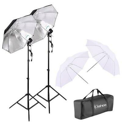 NEW Studio Photography 2 Softbox Continuous Photo Lighting Kit w/ Carrying Bag