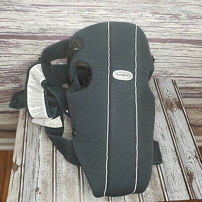 Baby Bjorn Classic Original Baby Carrier Black 8-25lbs Support Infant Adjustable