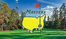 (2) 2020 Masters Golf Practice Round Tickets, Monday April 6, Two, 4/6 Full Day