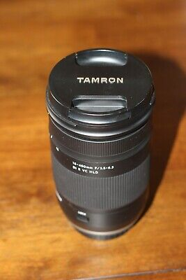 Tamron 18-400mm f/3.5-6.3 Di II VC lens for Canon EF
