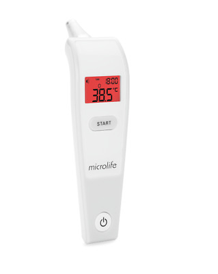 Thermometer Digital Ir Infrared Body Non Contact Temperature Baby Lcd Ear Meter