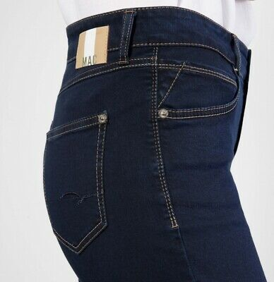 MA884 Mac Jeans Melanie Perfect Fit Forever Dark blue Washed D824