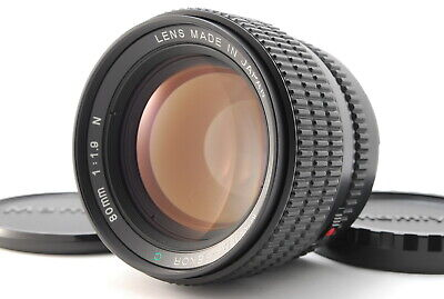 【EXC+++++】Mamiya Sekor C 80mm f/1.9 N Lens for 645 Series from Japan #2503