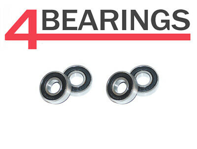 Set of 4 6204 2RS Sealed Wheel Bearings for 115mm PCD Hubs Trelgo Franc Trailer