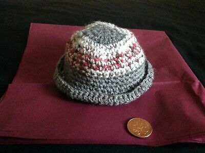Handmade Hat,  for small/early baby/doll.